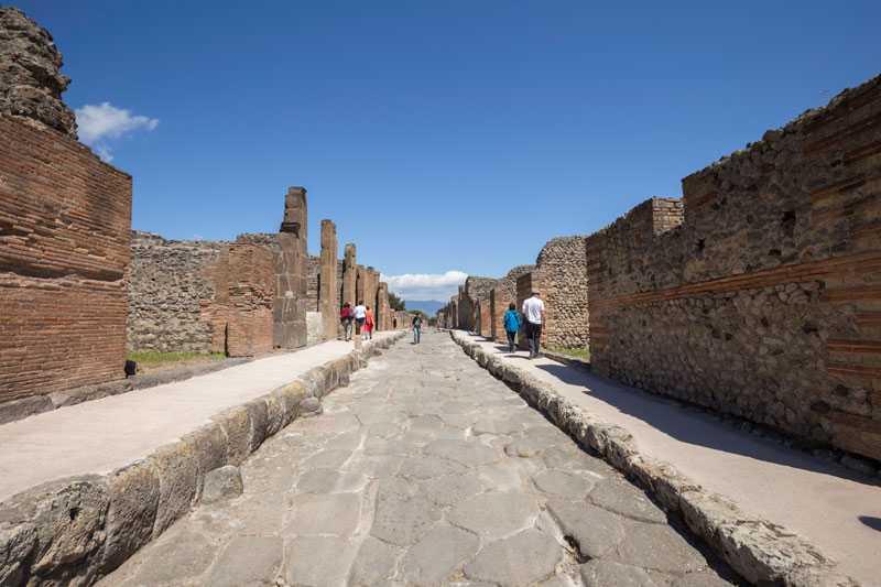 come visitare pompei