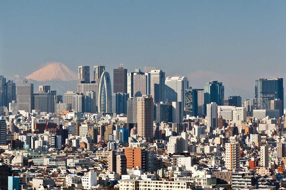 Panorami di Tokyo - Bunkyo Civic Center