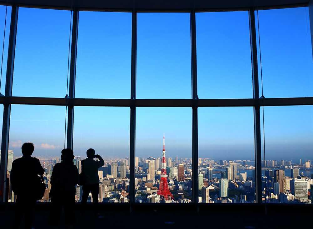Panorami di Tokyo - Mori Tower