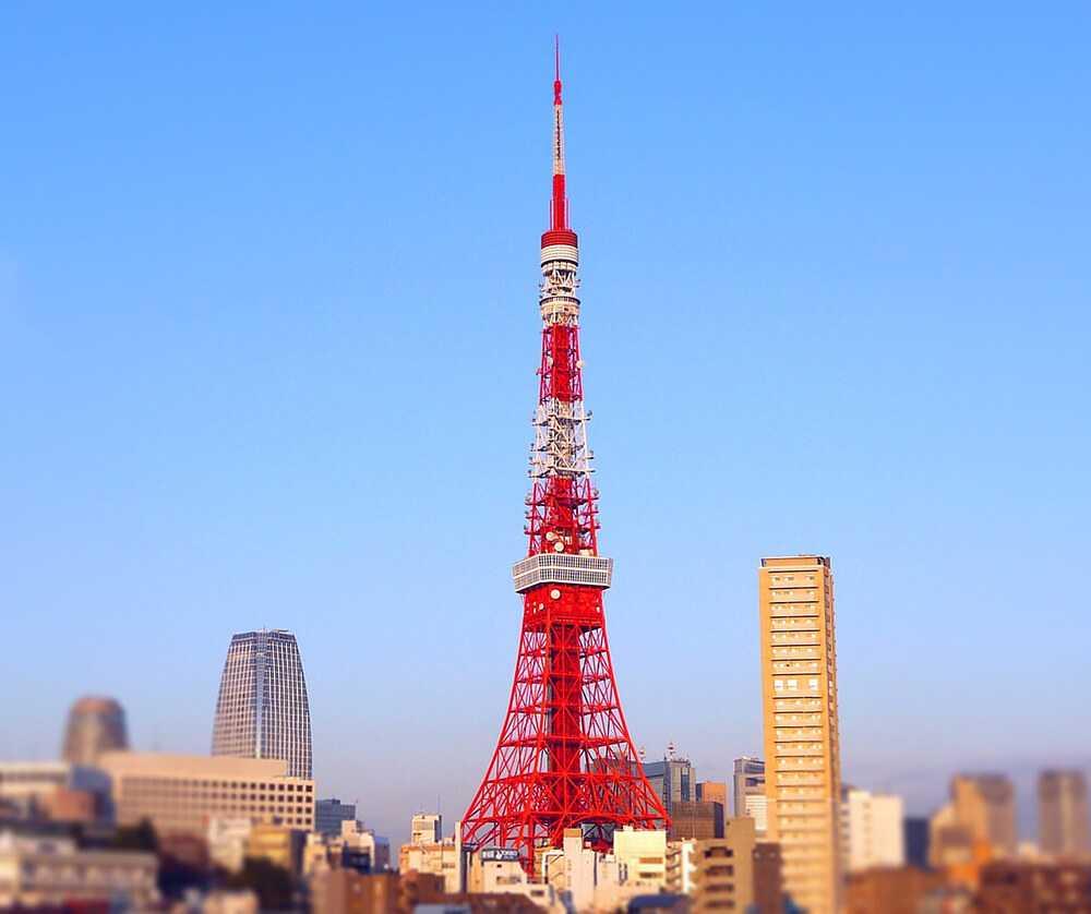 Panorami di Tokyo - Tokyo Tower