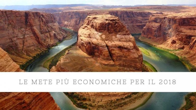 destinazioni più economiche per il 2018