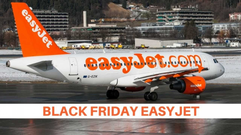 black friday easyjet 2