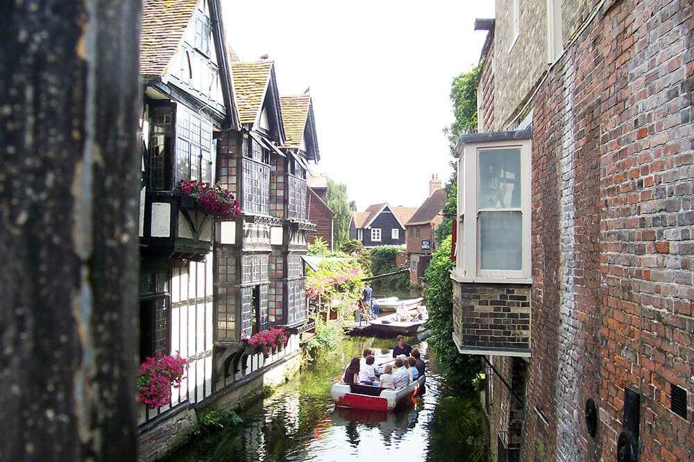 Cosa vedere a Canterbury - i canali