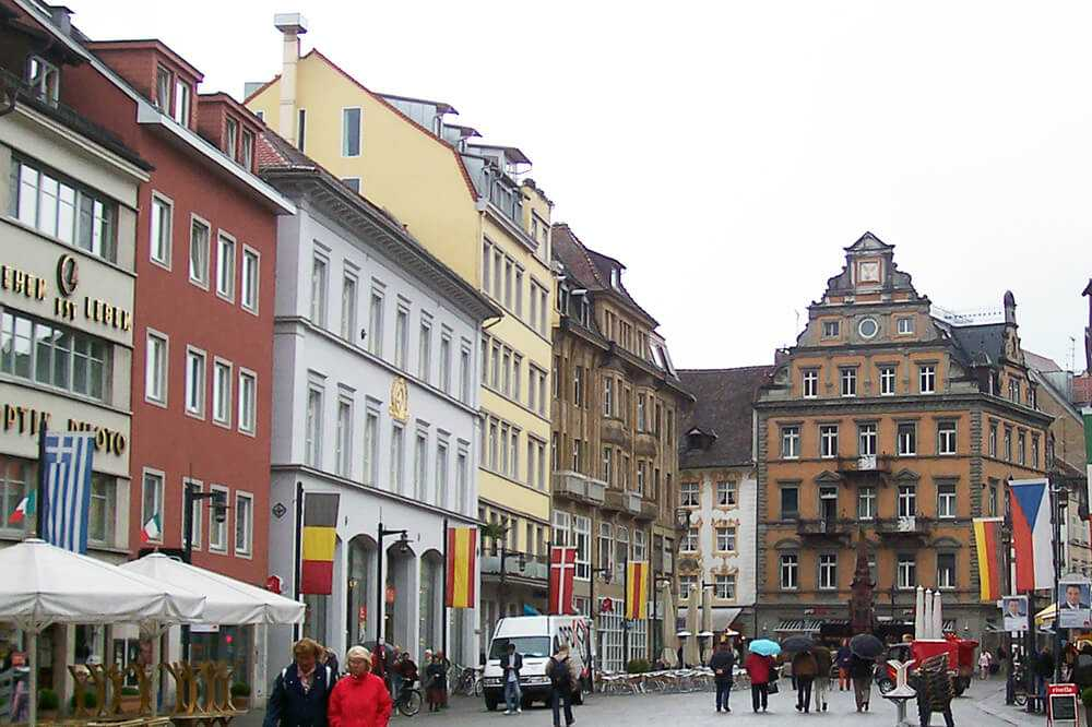 Piazza di Costanza - Germania