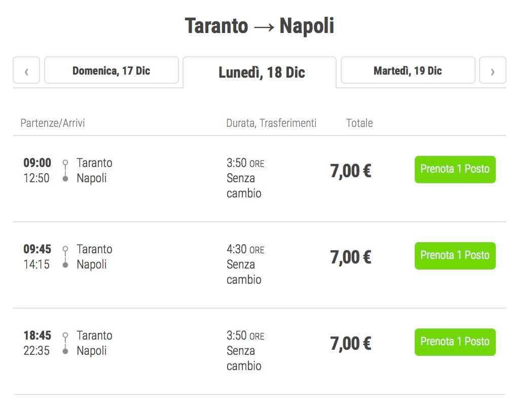 biglietti flixbus 7 euro