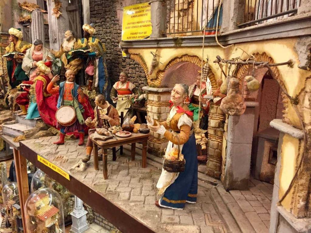 san gregorio armeno presepi napoletani