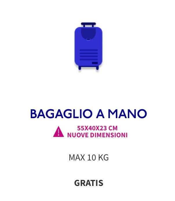 bagaglio a mano wizz air