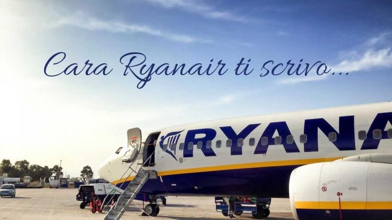 lettera ryanair