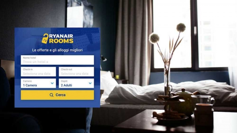 Ryanair Rooms: prenoti un hotel e voli gratis | VoloGratis.org