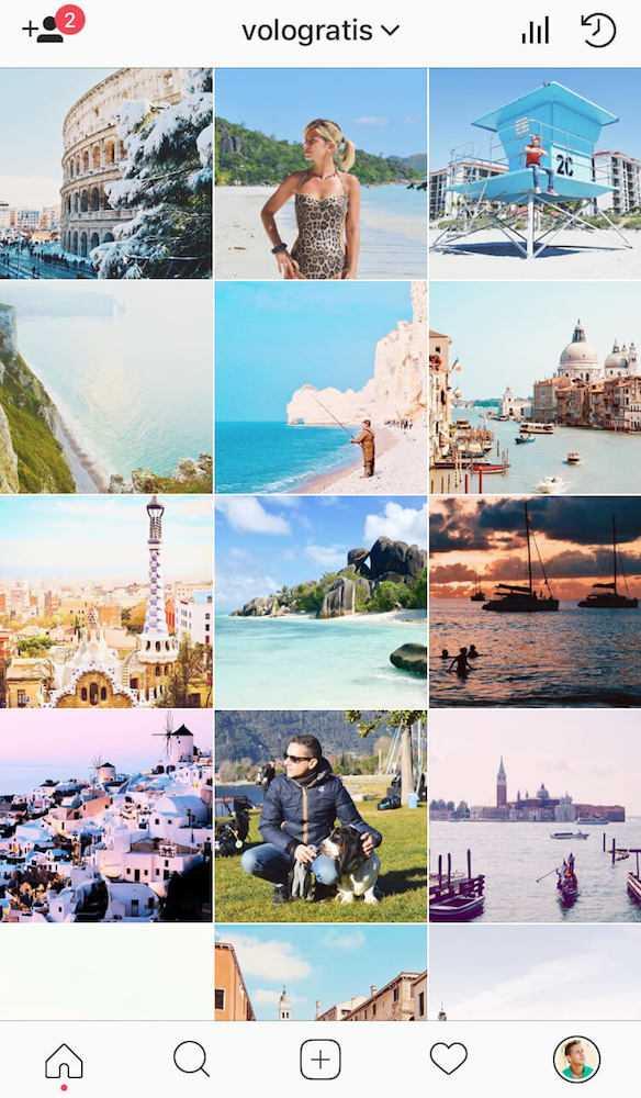 instagram travel blogger