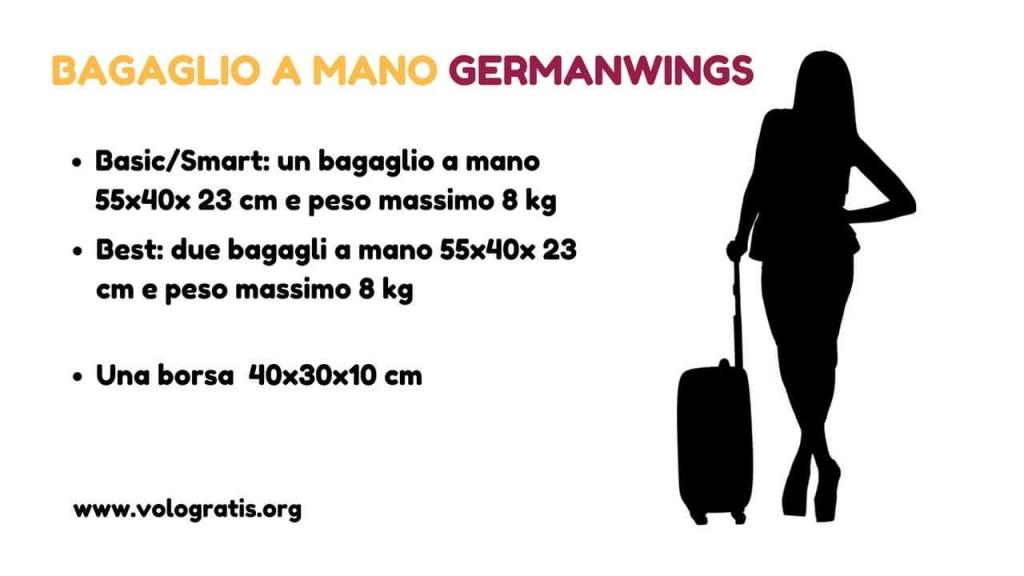 bagaglio a mano germanwings