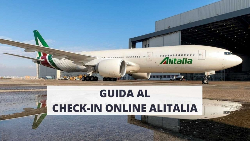 check-in online alitalia