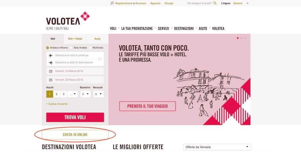 check-in online volotea