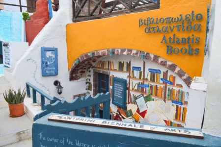 libreria santorini atlantis books