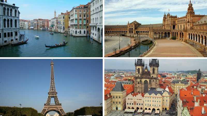 concorso per vincere un viaggio in europa
