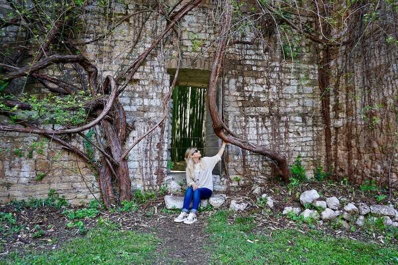 giardino di ninfa latina