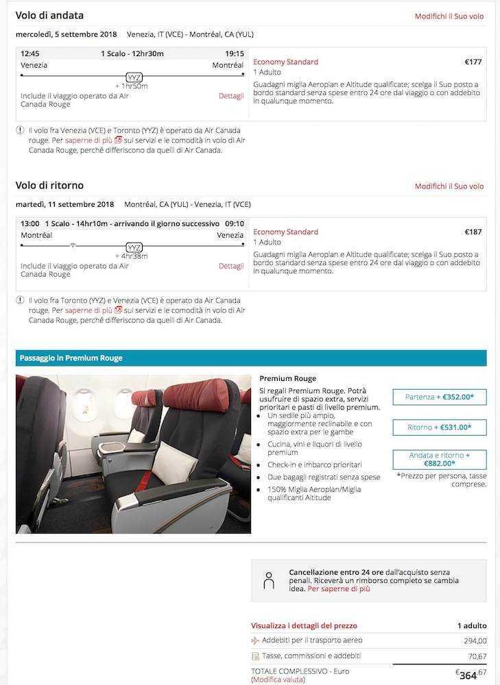 voli low cost per il canada venezia (2)