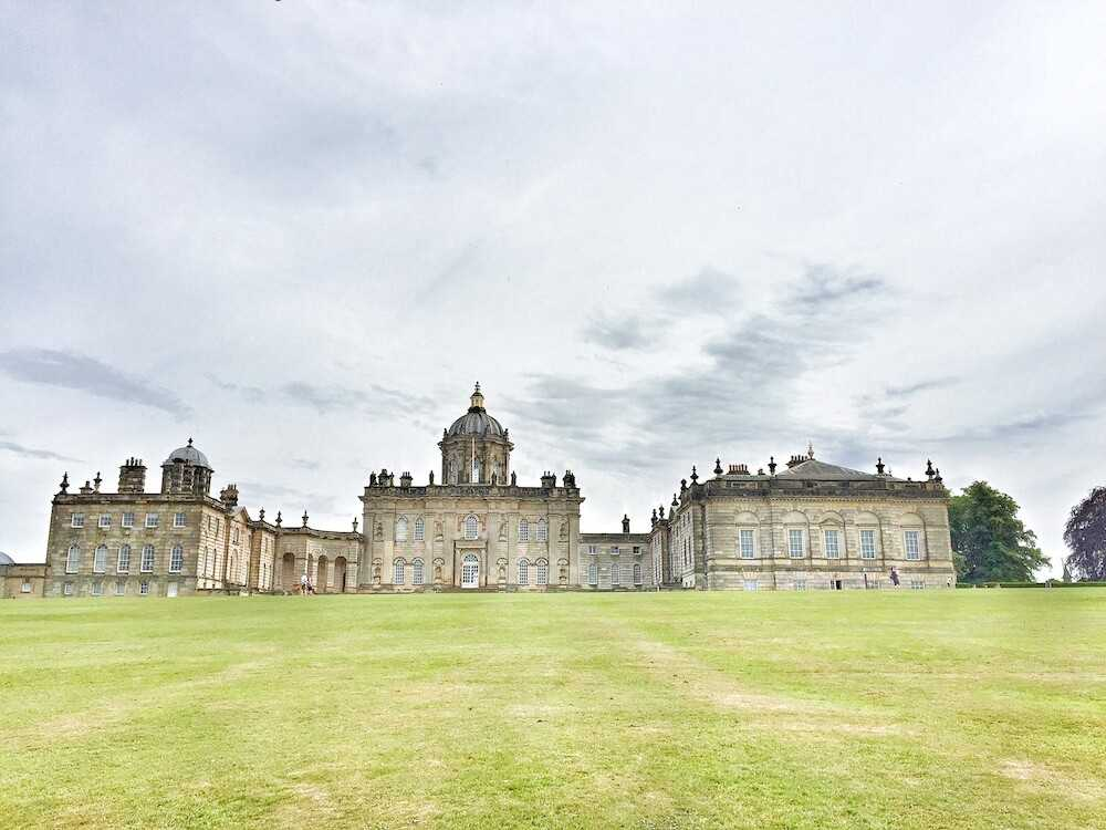 viaggio yorkshire castle howard