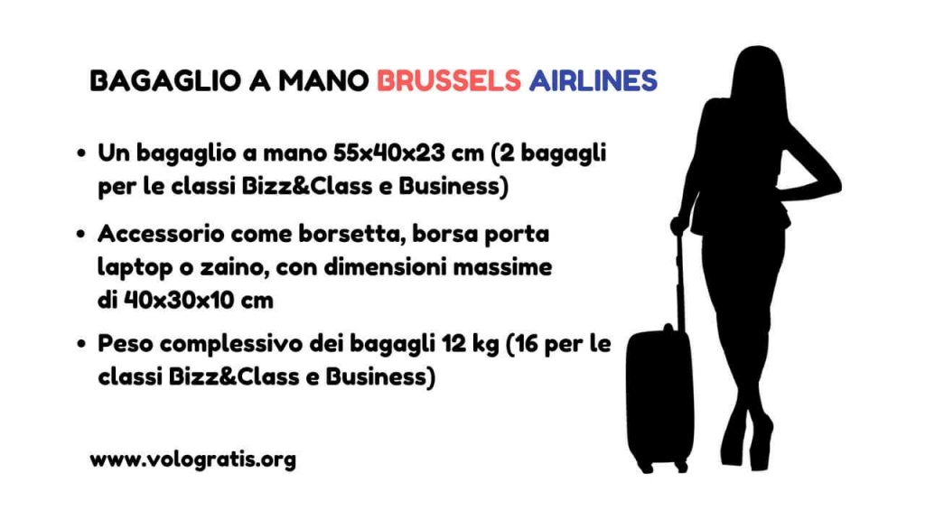 brussels airlines bagaglio mano