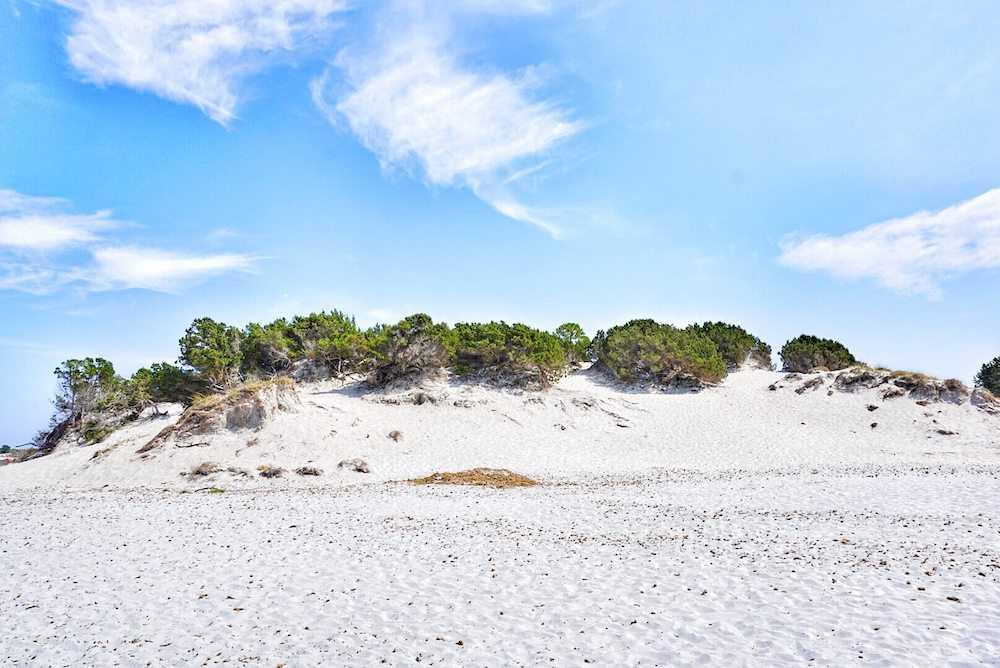 capo comino dune