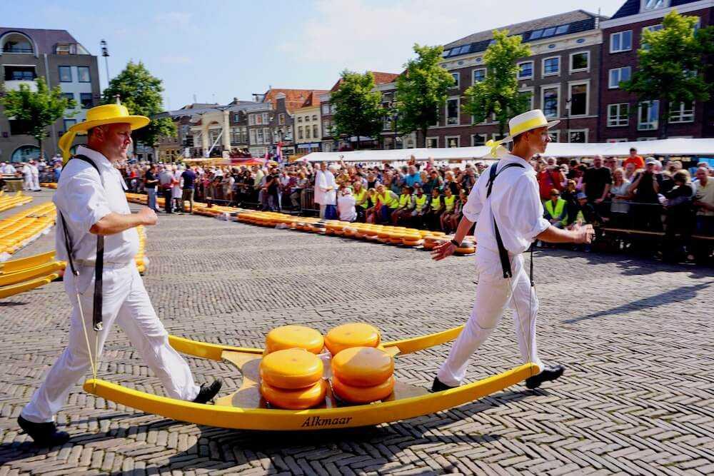 viaggio olanda del nord alkmaar mercato formaggio 3