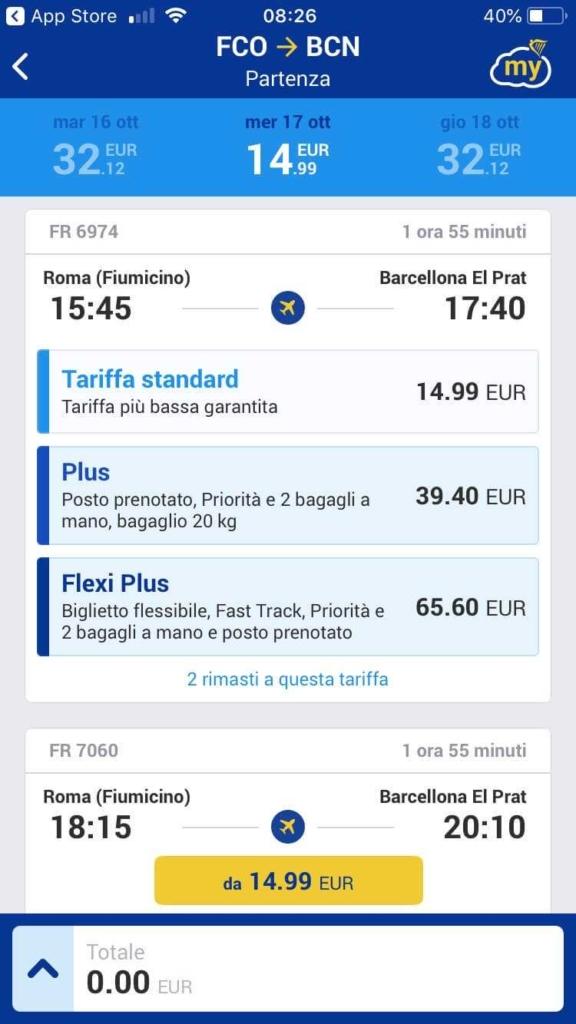app ryanair prenotare voli (5)