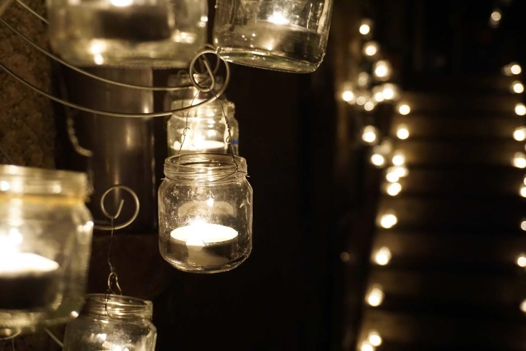 notte candele vallerano