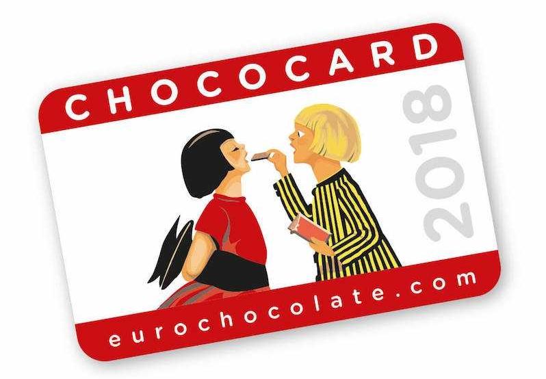chococard eurochocolate perugia