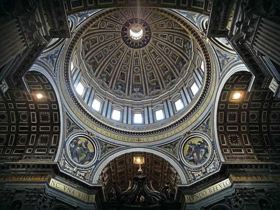 cupola san pietro interni
