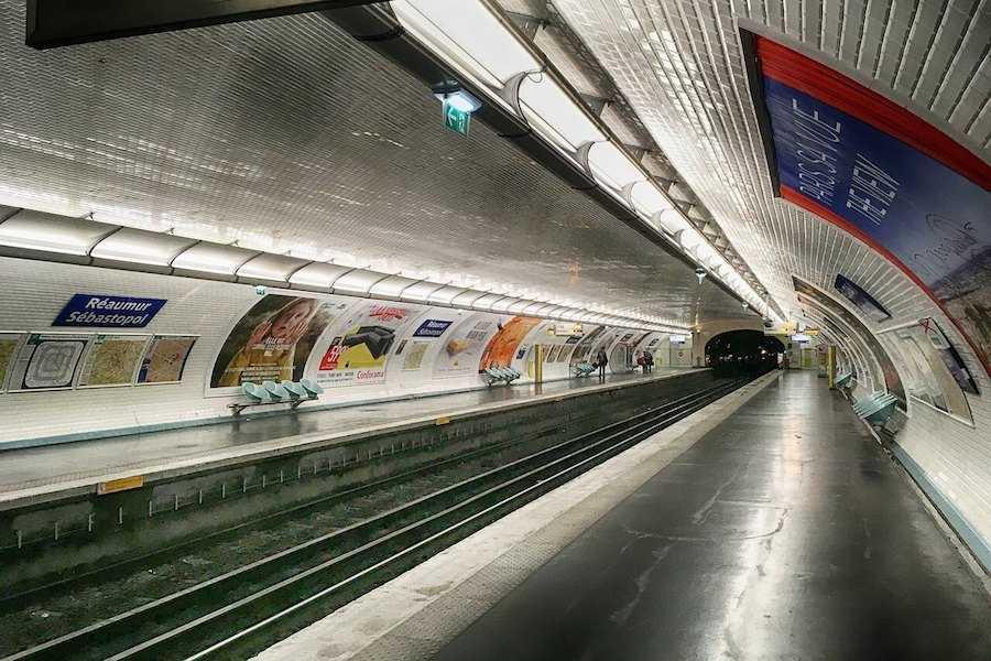 metro parigi 3