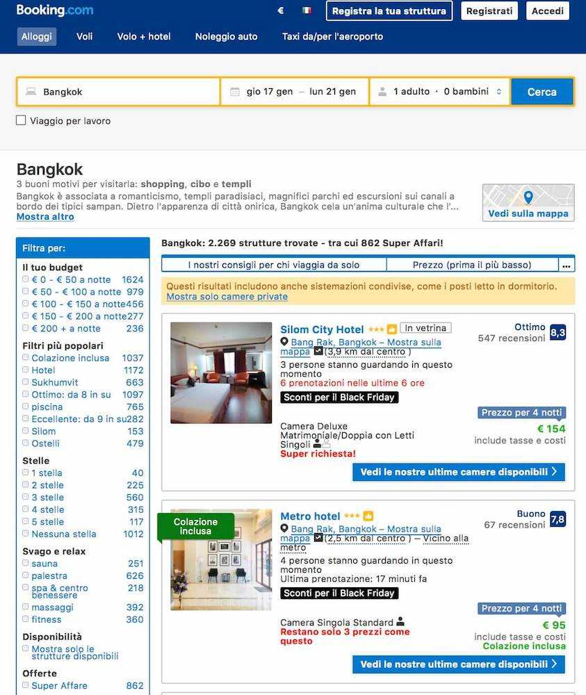 black friday bookingcom