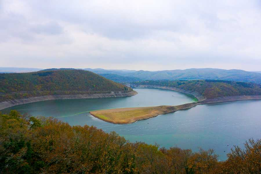 viaggio in germania edersee