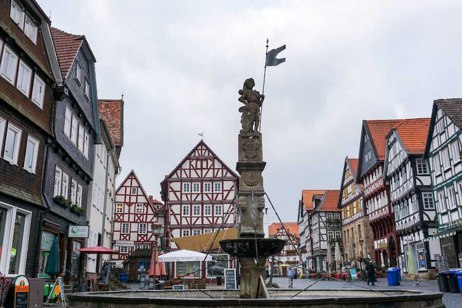 viaggio in germania fritzlar