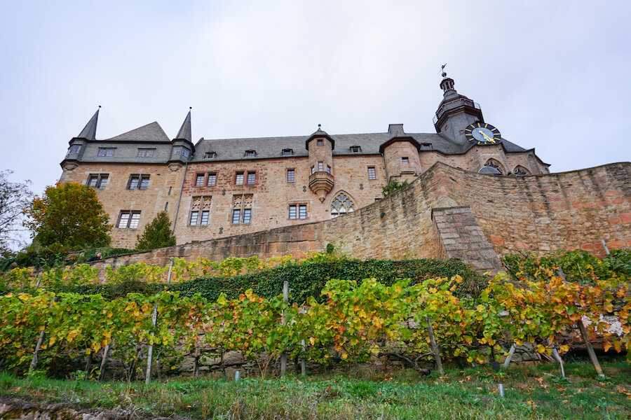 viaggio in germania marburg castello