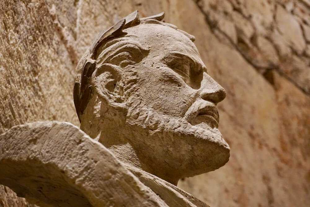 spalato busto diocleziano