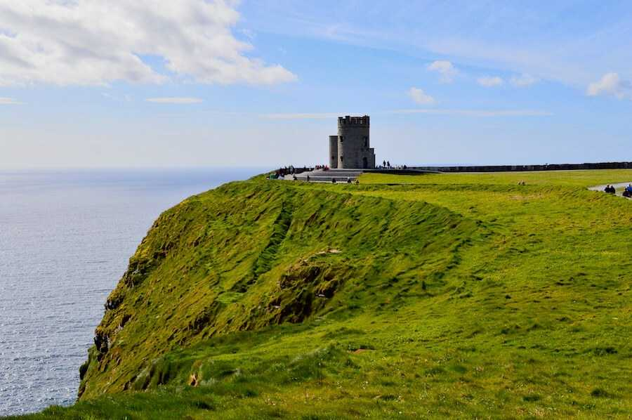 cliffs of moher o briens tower