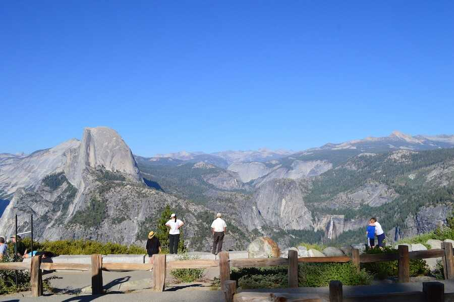 yosemite glacier point