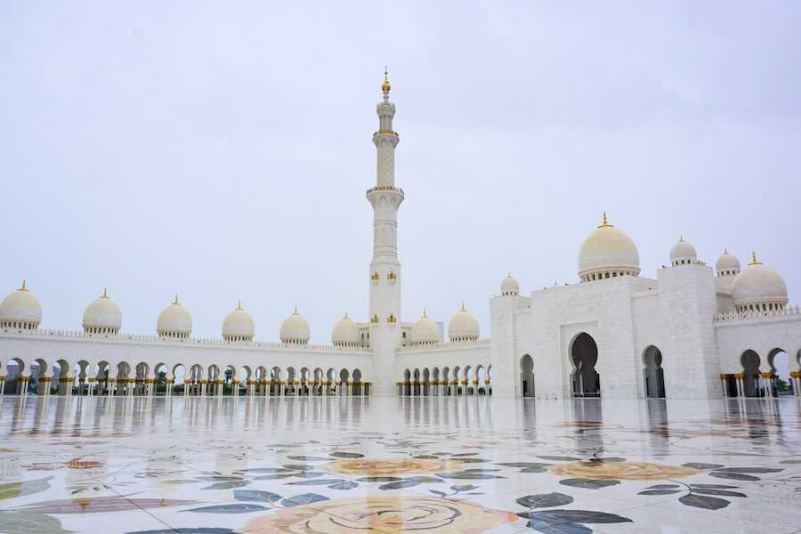 crociera emirati arabi moschea abu dhabi