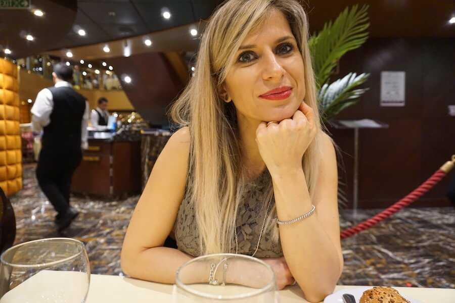 crociera emirati arabi valentina venanzi