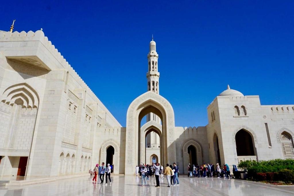 crociera oman muscat moschea