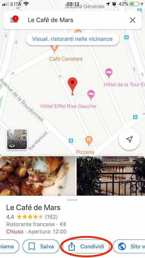 google maps indicazioni stradali 3