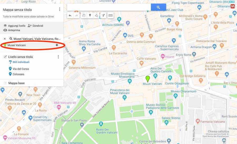 google maps mymaps