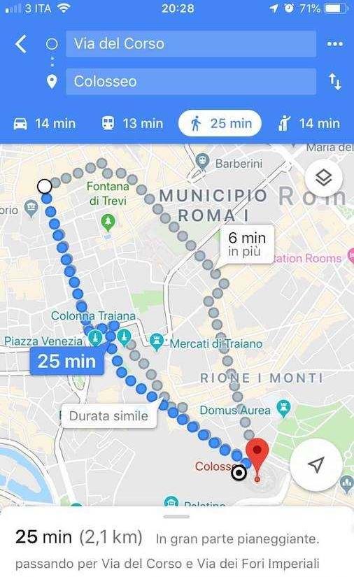 google maps navigatore 4