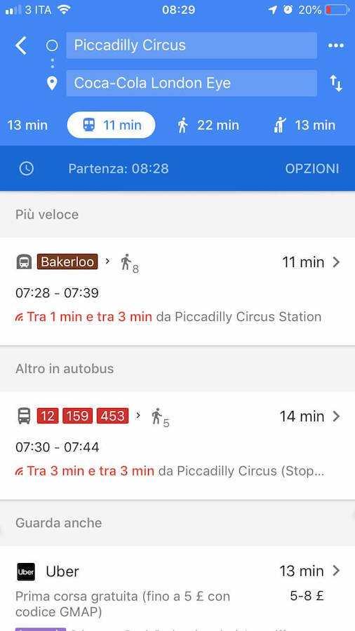 google maps navigatore 5