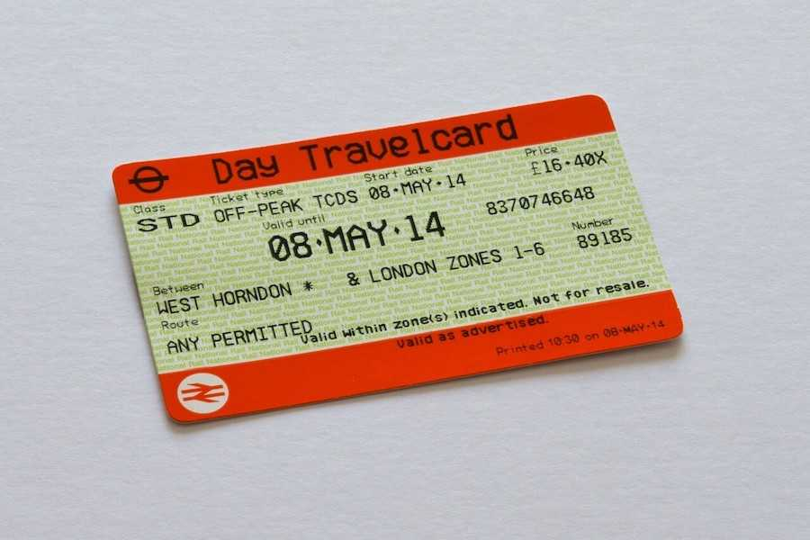 travelcard londra 2