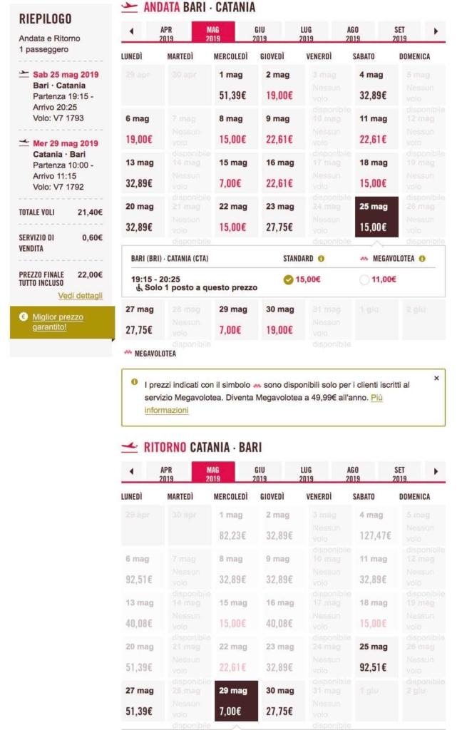 voli low cost volotea 7 euro