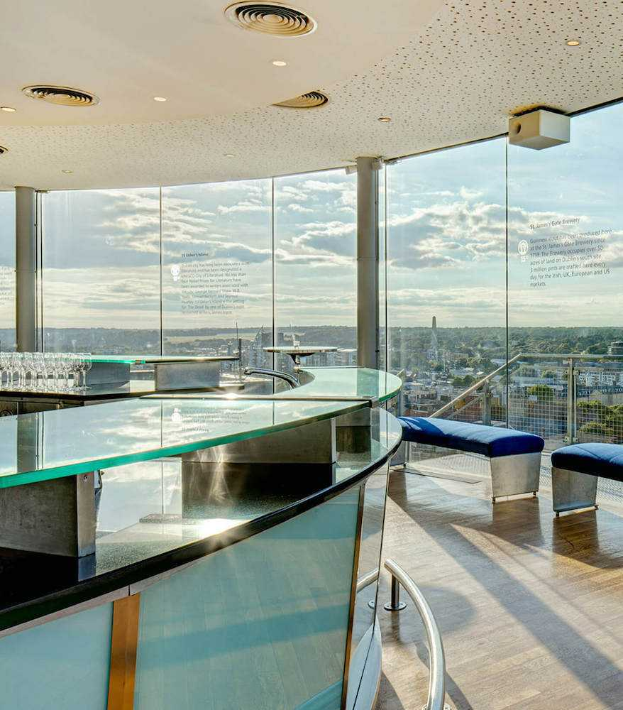 guinness storehouse gravity bar