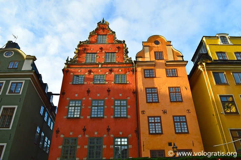 case colorate a Gamla Stan